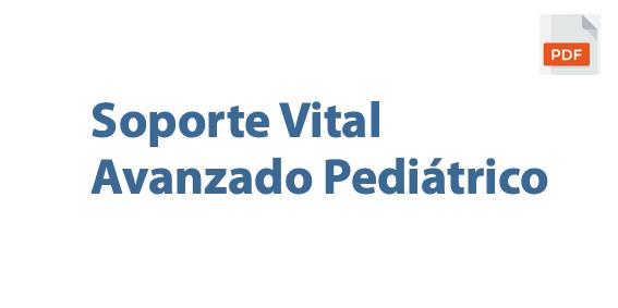 soporte vital avanzado pediatrico